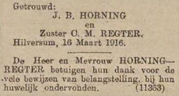 Advertentie Algemeen Handelsblad, 16 maart 1916