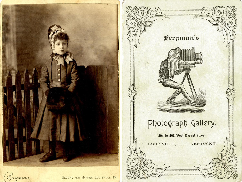 Cabinet Card; voor- en achterzijde