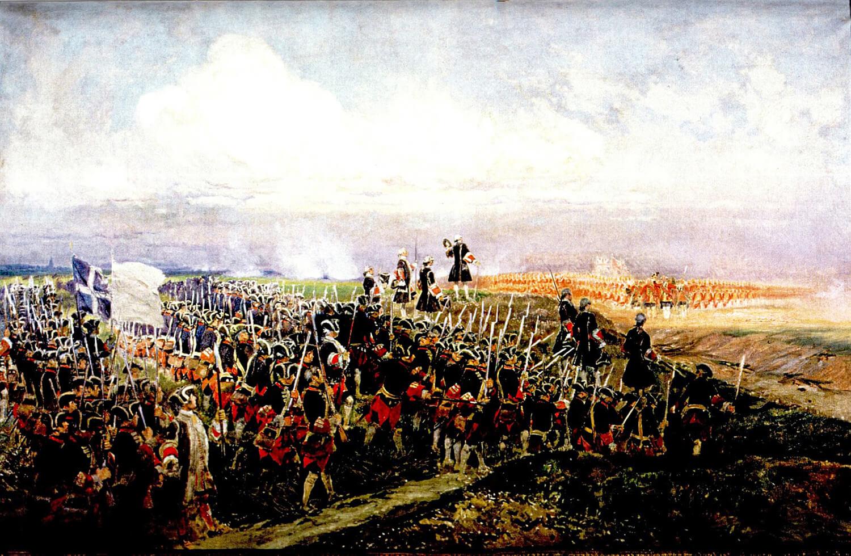 De Slag bij Fontenoy 1745