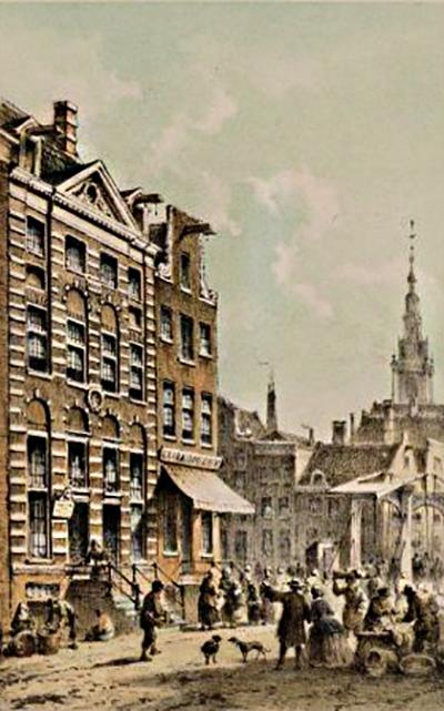 De huizen van Rembrandt en Nicolaes