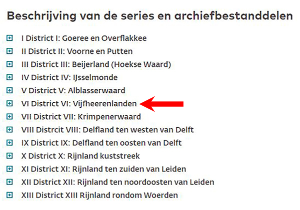 District Vijfheerenlanden