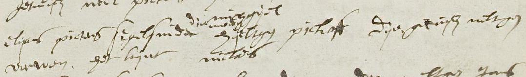 Doop Niclaes, Amsterdam 10 januari 1588, zoon van Elijas Pietersz en Hijltgen Pickhof