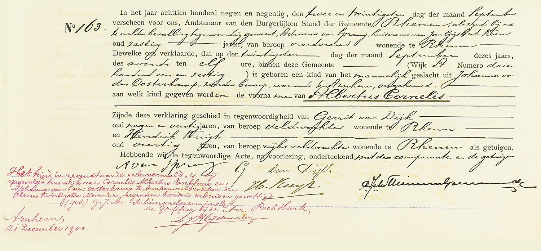 Erkenning en wettiging