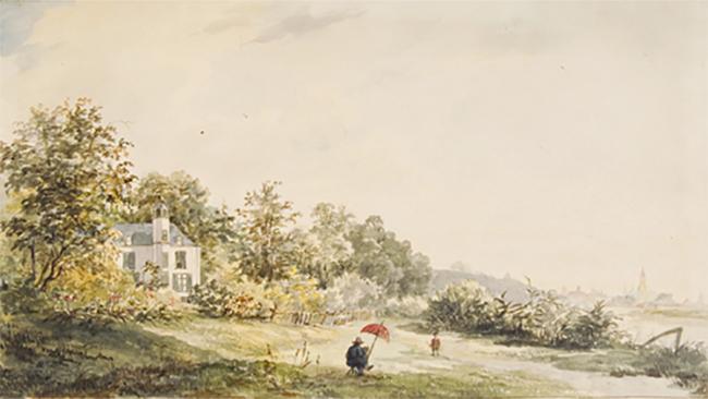 Hulkestein 19e eeuw