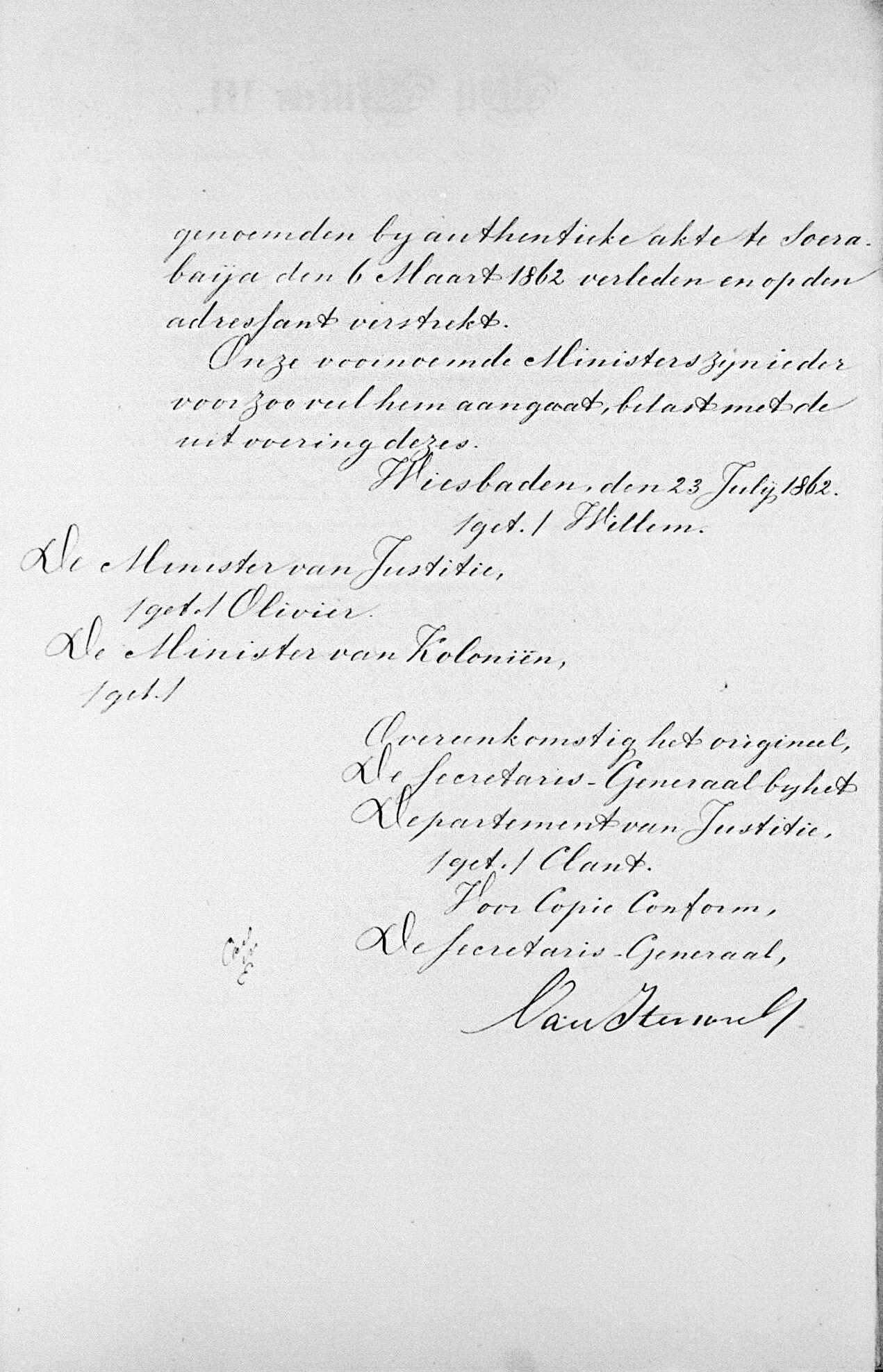 Huwelijksdispensatie (Wiesbaden, 23 juli 1862) vervolg