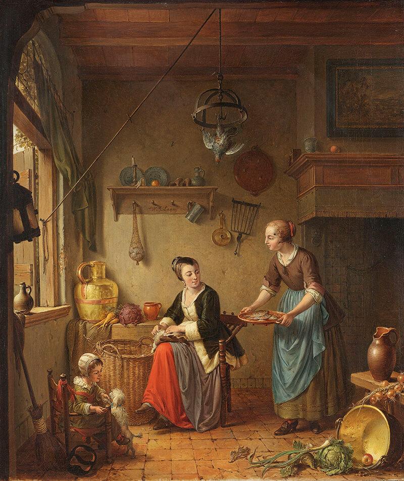 Keuken uit de 18e eeuw