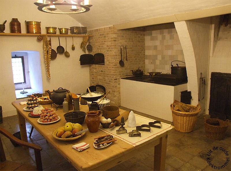 Keuken uit de 19e eeuw