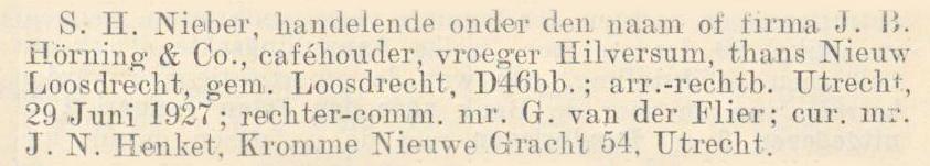 Nederlandsche Staatscourant, 5 juli 1927