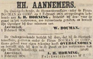 Overdracht, Algemeen Handelsblad, 3 februari 1876