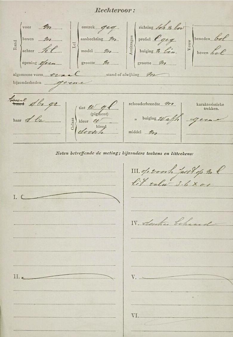 Signalementskaart Theodorus Ubeda 2