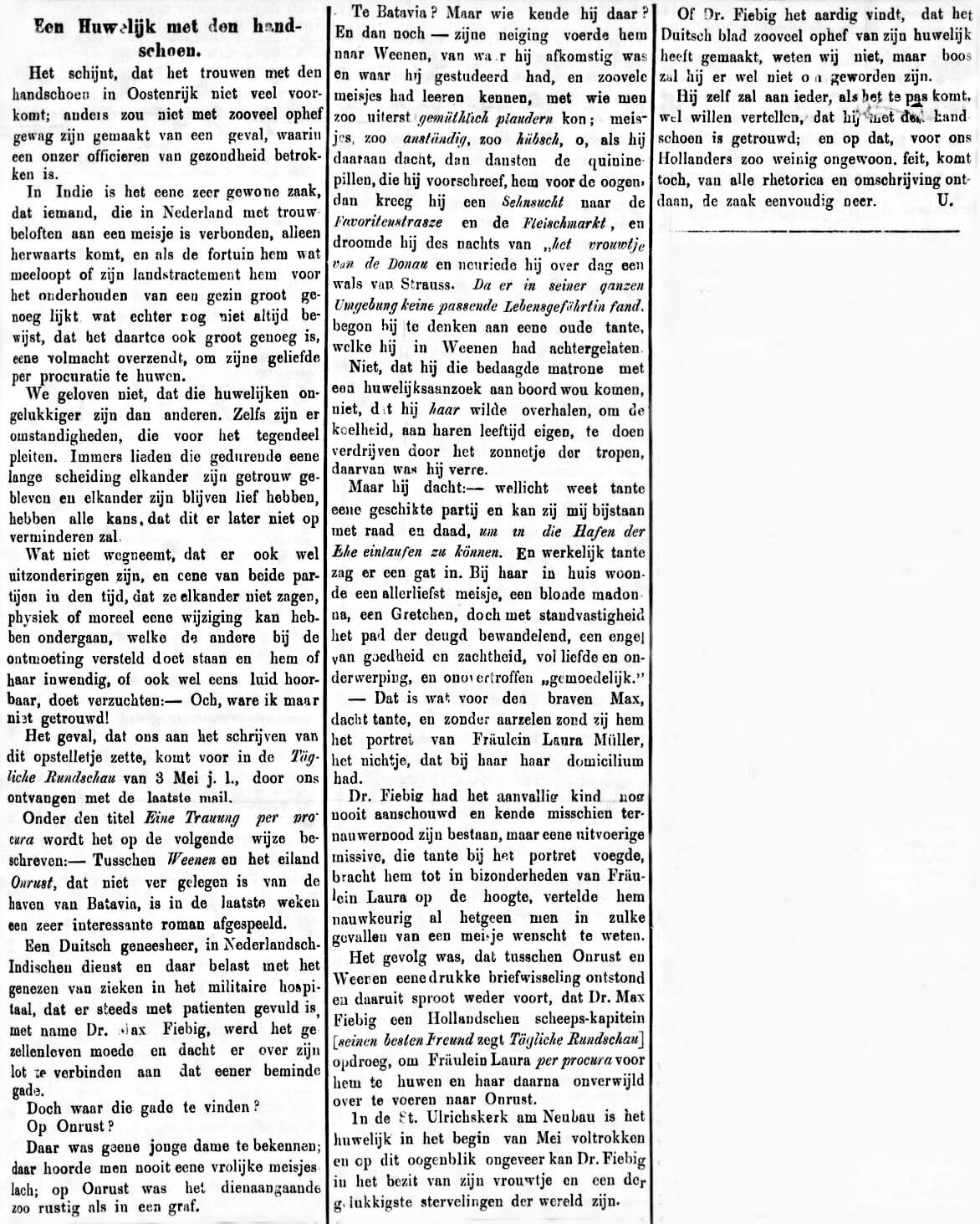 Soerabaijasch Handelsblad van 16 juni 1884