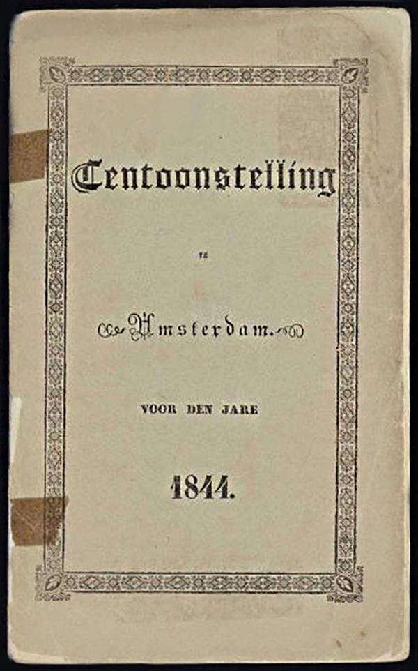 Tentoonstellingsboekje Amsterdam