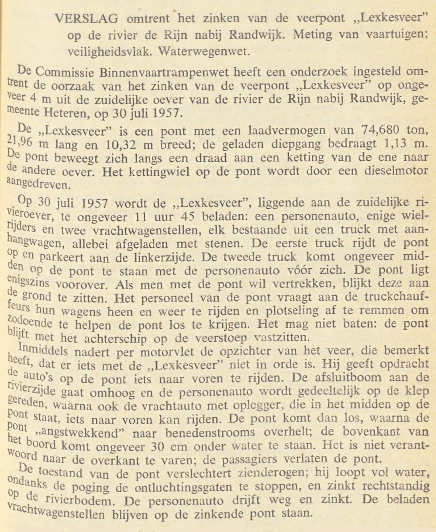 Uitspraak van den Raad voor de Scheepvaart, bijvoegsel van de Ned Staatscourant van 10 september 1959, nr 175