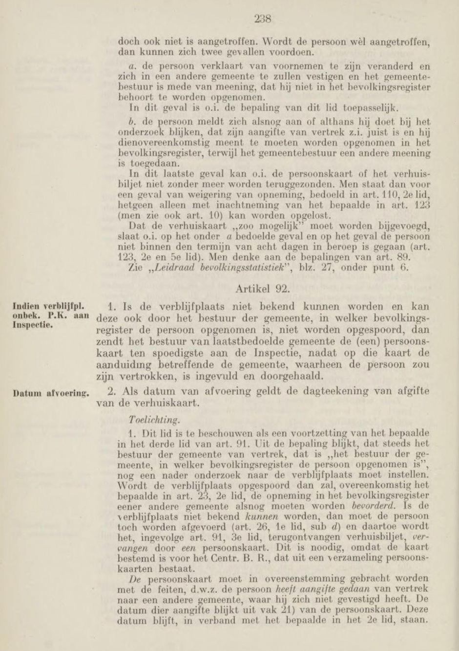 Voorbeeld uit de Handleiding Bevolkingsboekhouding.