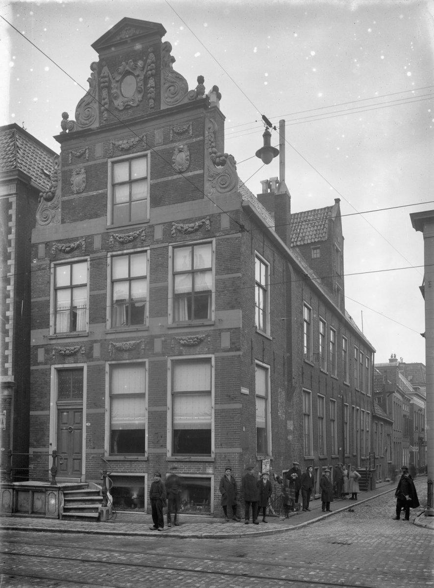 Voorgevel hoek Jacobijnerstraat Groningen